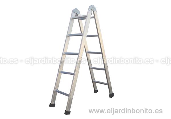 Escalera plegable para el jard n for Escaleras plegables extensibles
